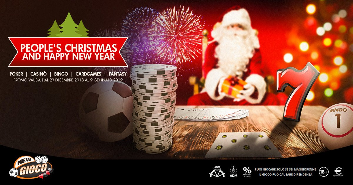 PEOPLE'S CHRISTMAS AND HAPPY NEW YEAR!