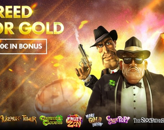 GREED FOR GOLD: 1.500€ in Bonus!