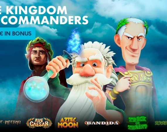 THE KINGDOM OF COMMANDERS: 1.000€