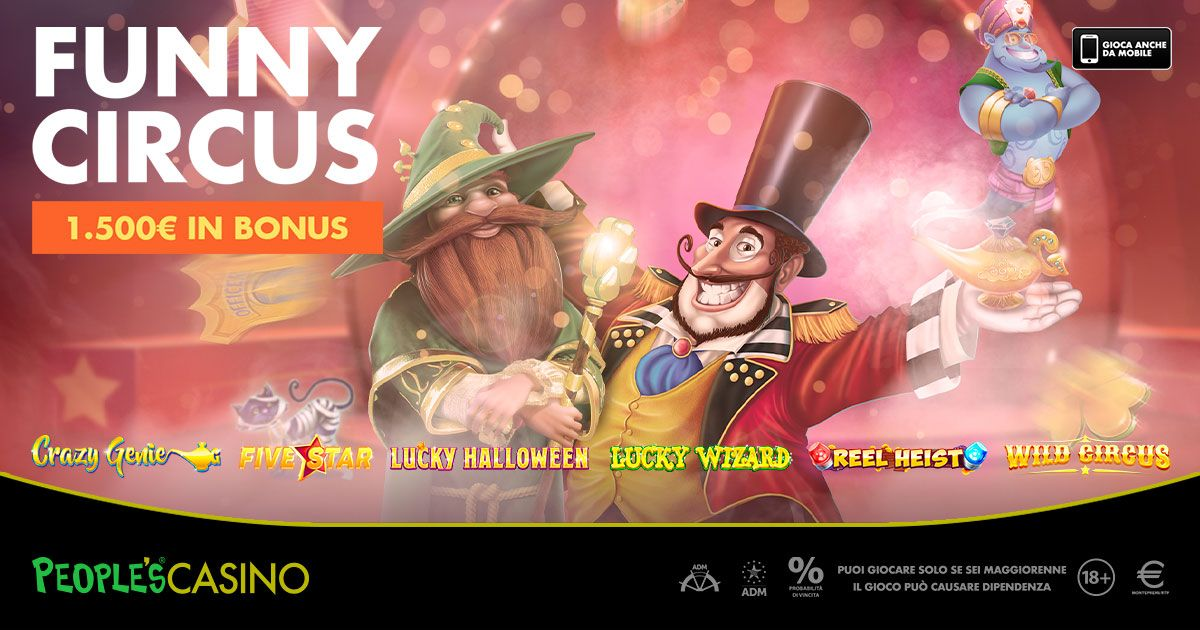 FUNNY CIRCUS: 1.500 € in palio!